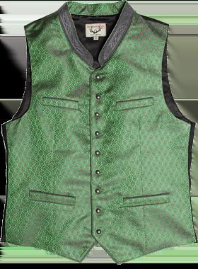 Trachtenweste Gilet grün