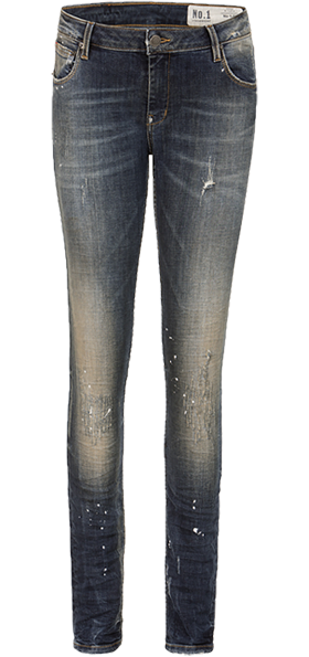 Stockerpoint Trachtenjeans No1 50 Lang Dirtywashed