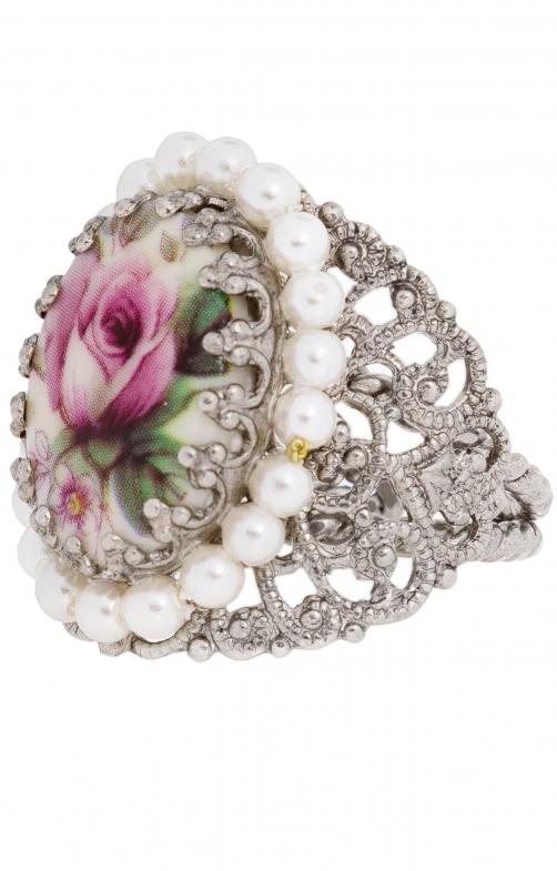 Ring R801 Ornament umfasst, rosa