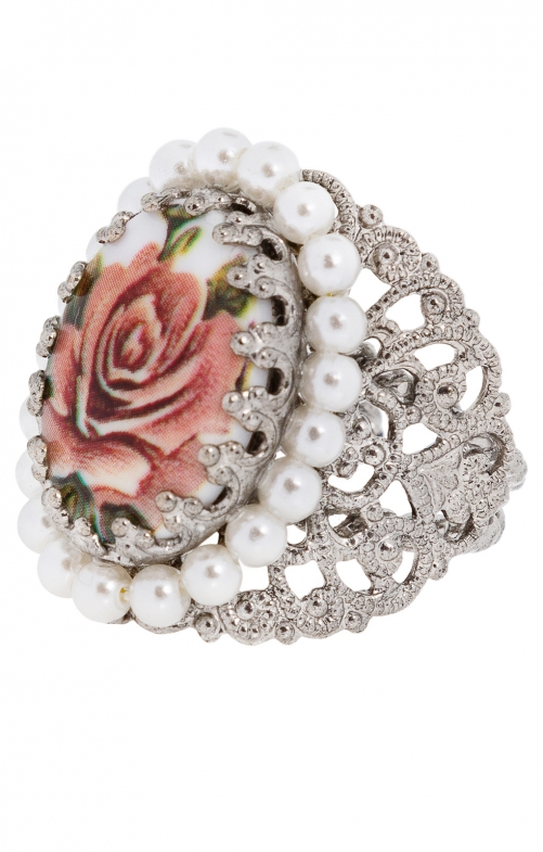 Ring R801 Ornament umfasst, lachs