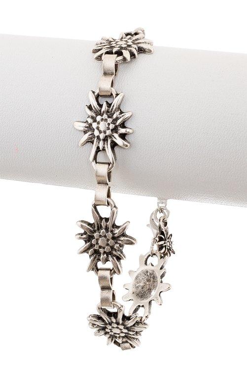 Armband AB7001 altsilber Edelweiss